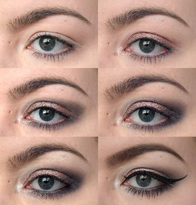 Rose Gold Smokey Eye Tutorial