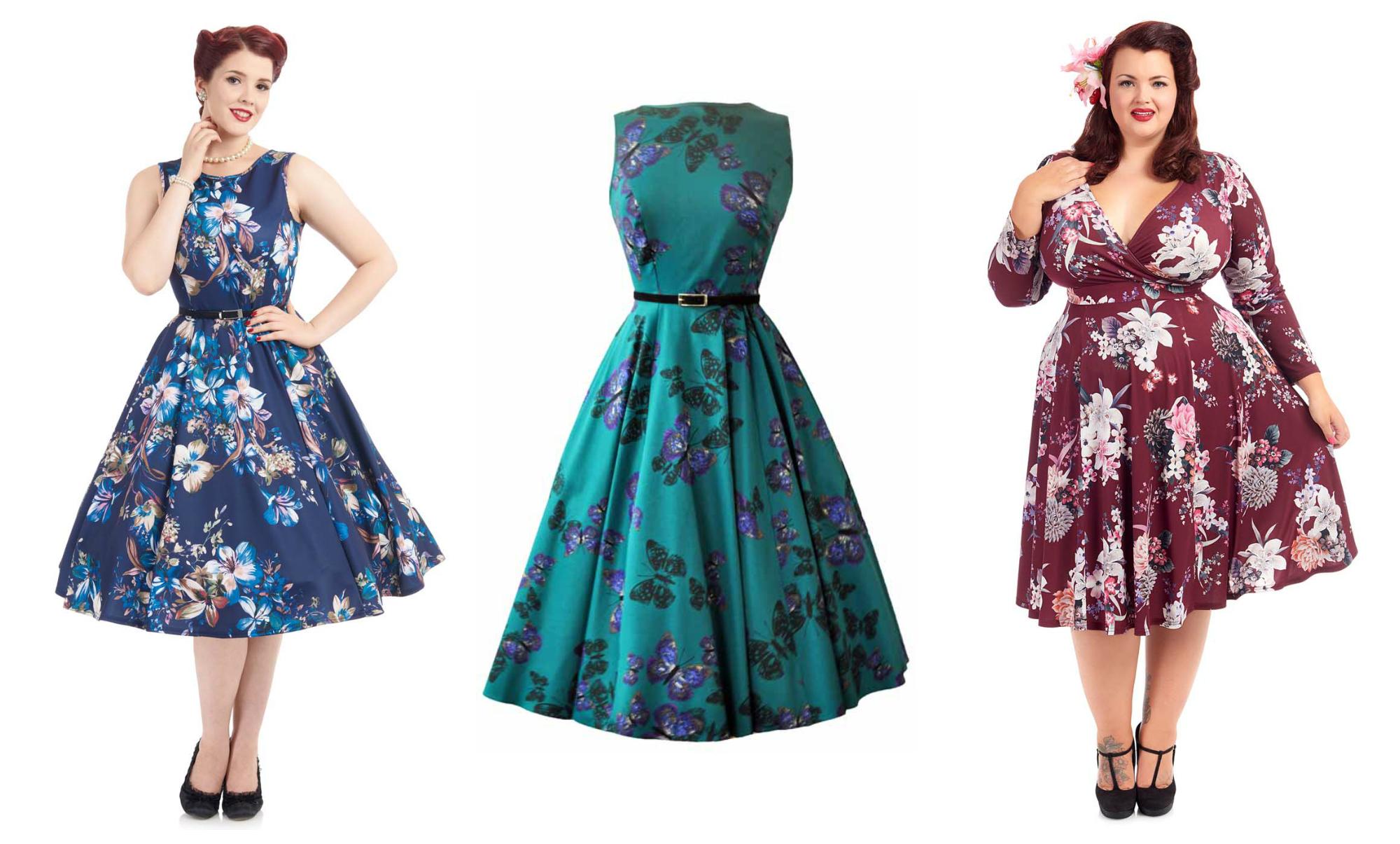autumn vintage dresses