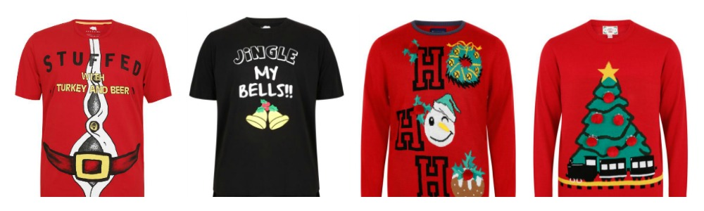 Christmas T-Shirts for Plus Size Men