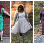 Plus Size Babes Glittering in Christmas Party Outfits!