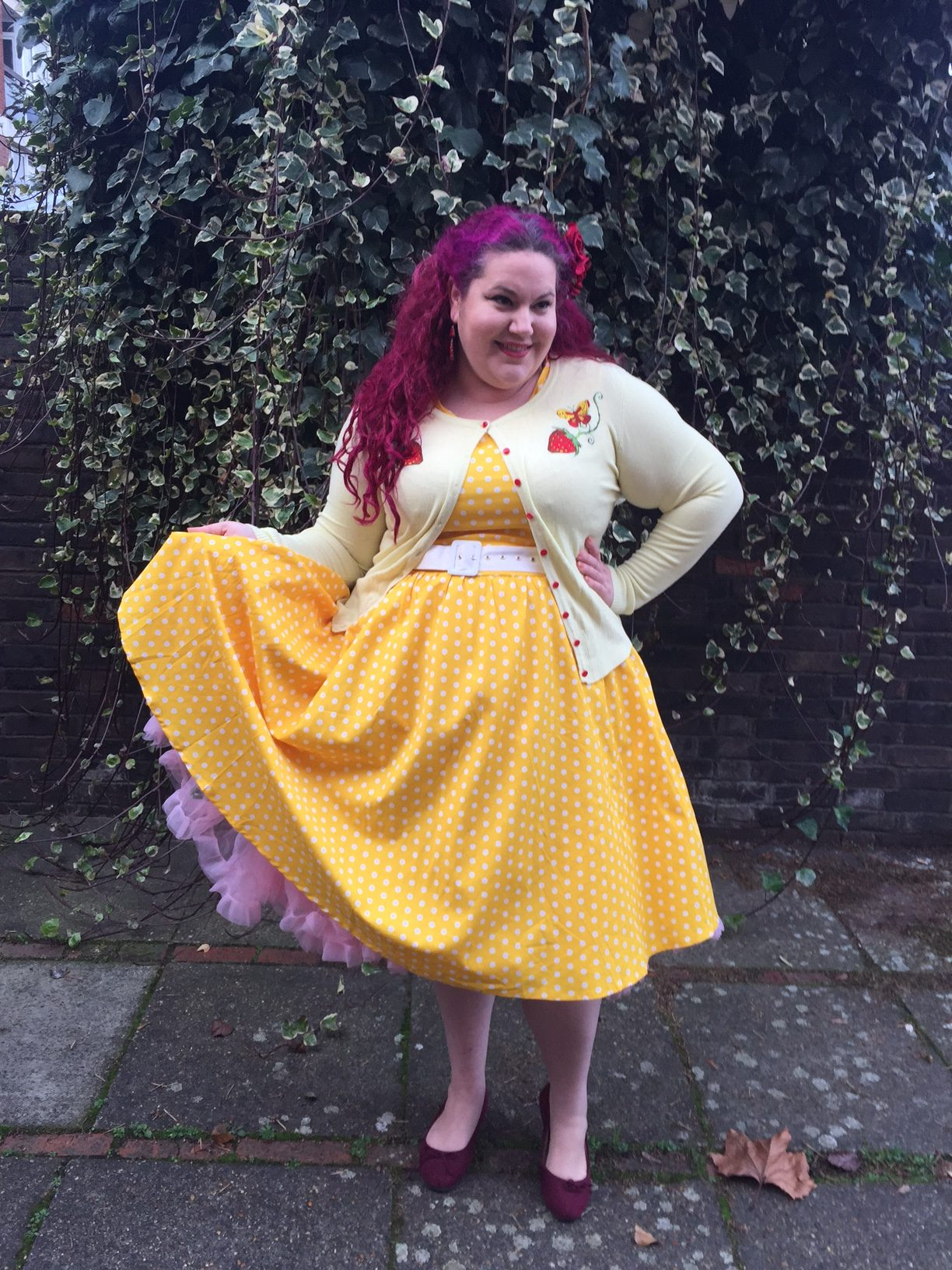 Dolly and Dotty Yellow Wendy Dress She Might Be
