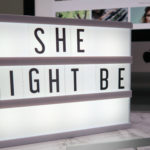 she might be