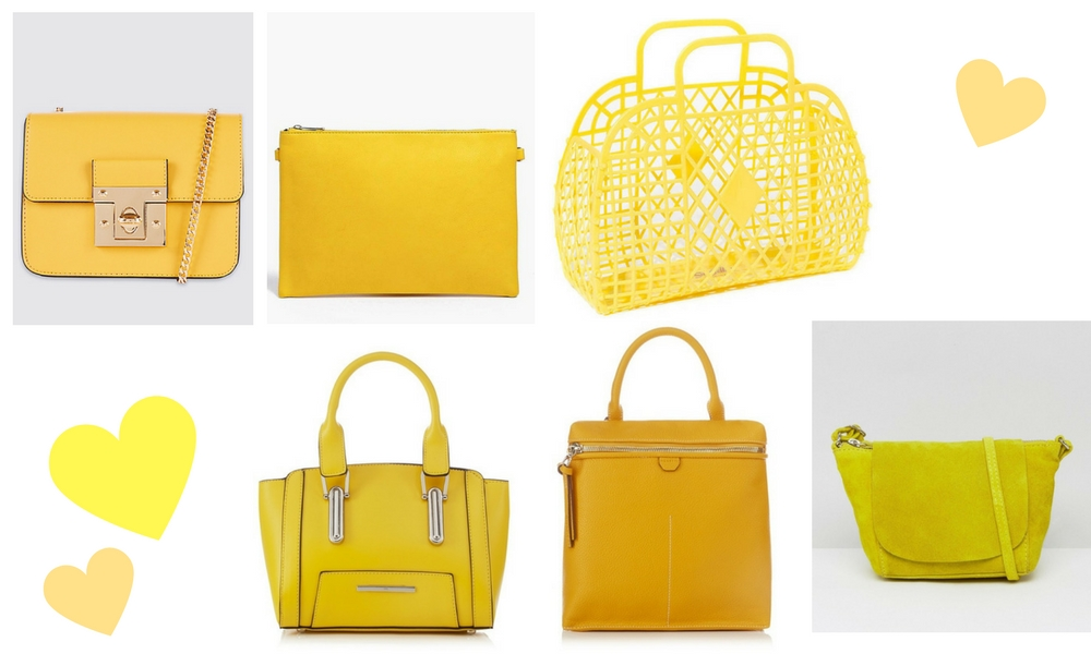 SS17 Bags Yellow