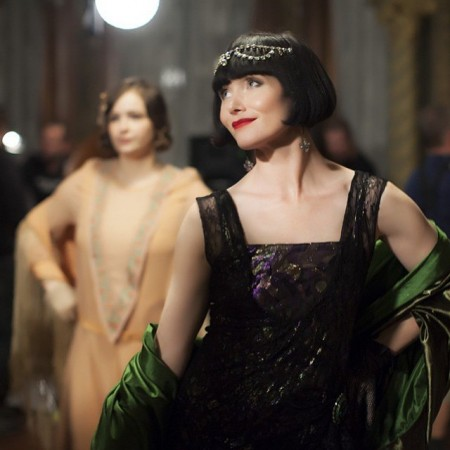 miss fisher evening gown