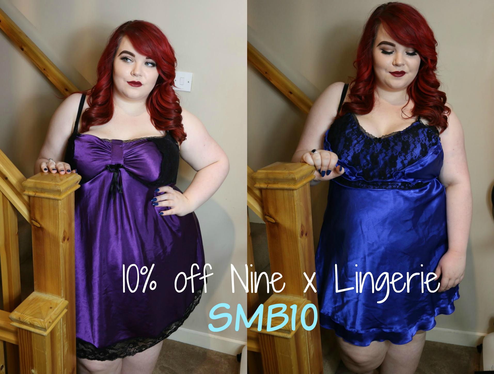 nine x lingerie discount code