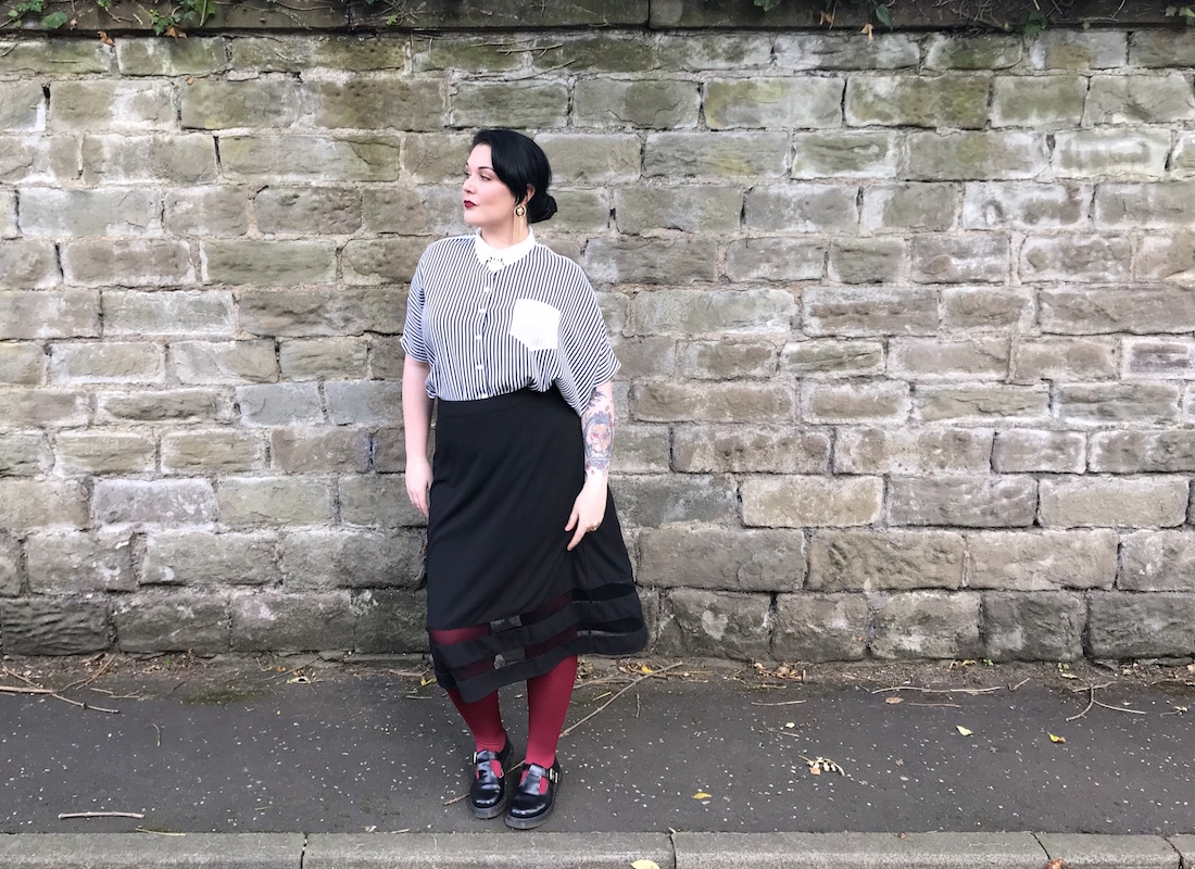 Plus Size Halloween Inspired Outfit