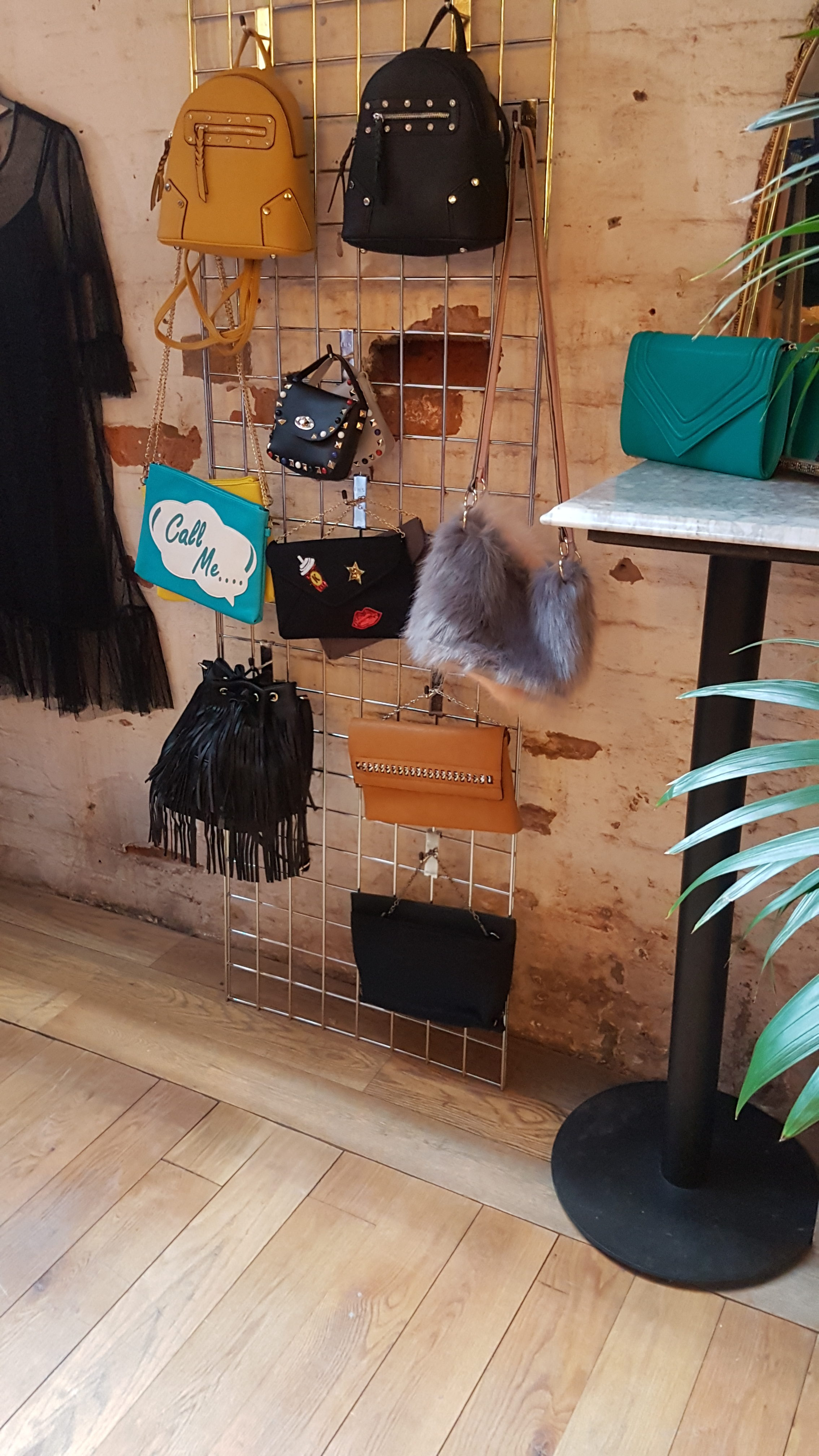 topsy curvy new bag range on display