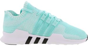 aqua and white adidas trainers