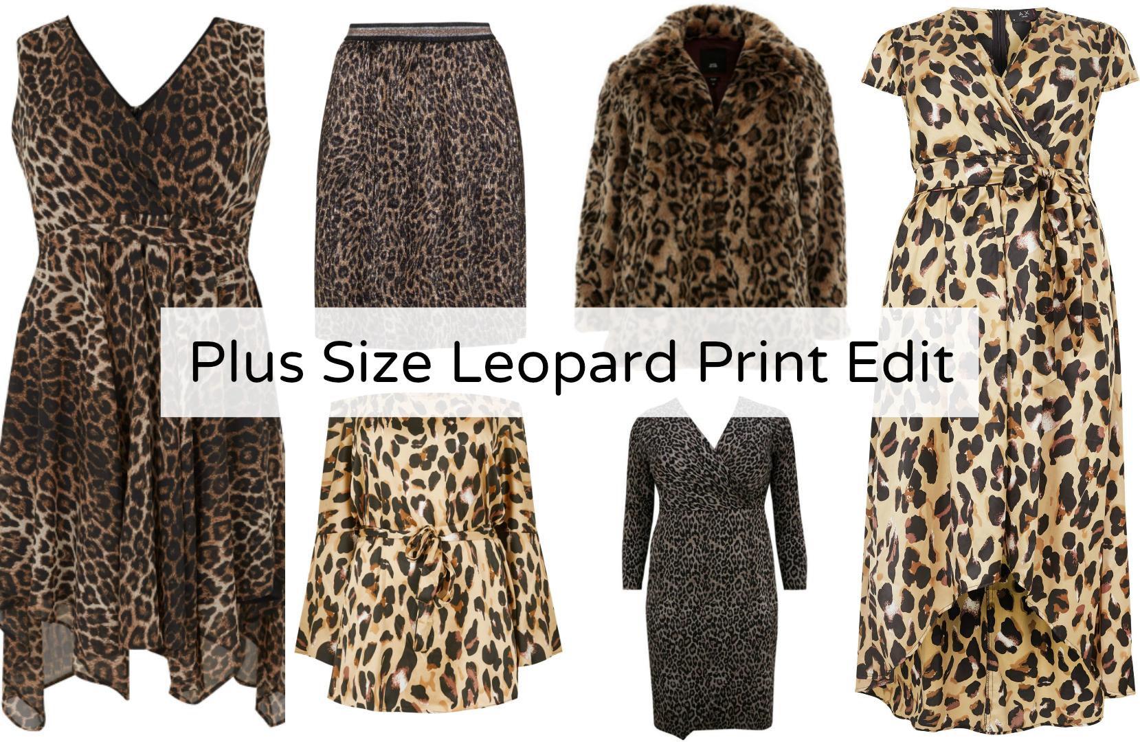 The Plus Size Leopard Print Edit