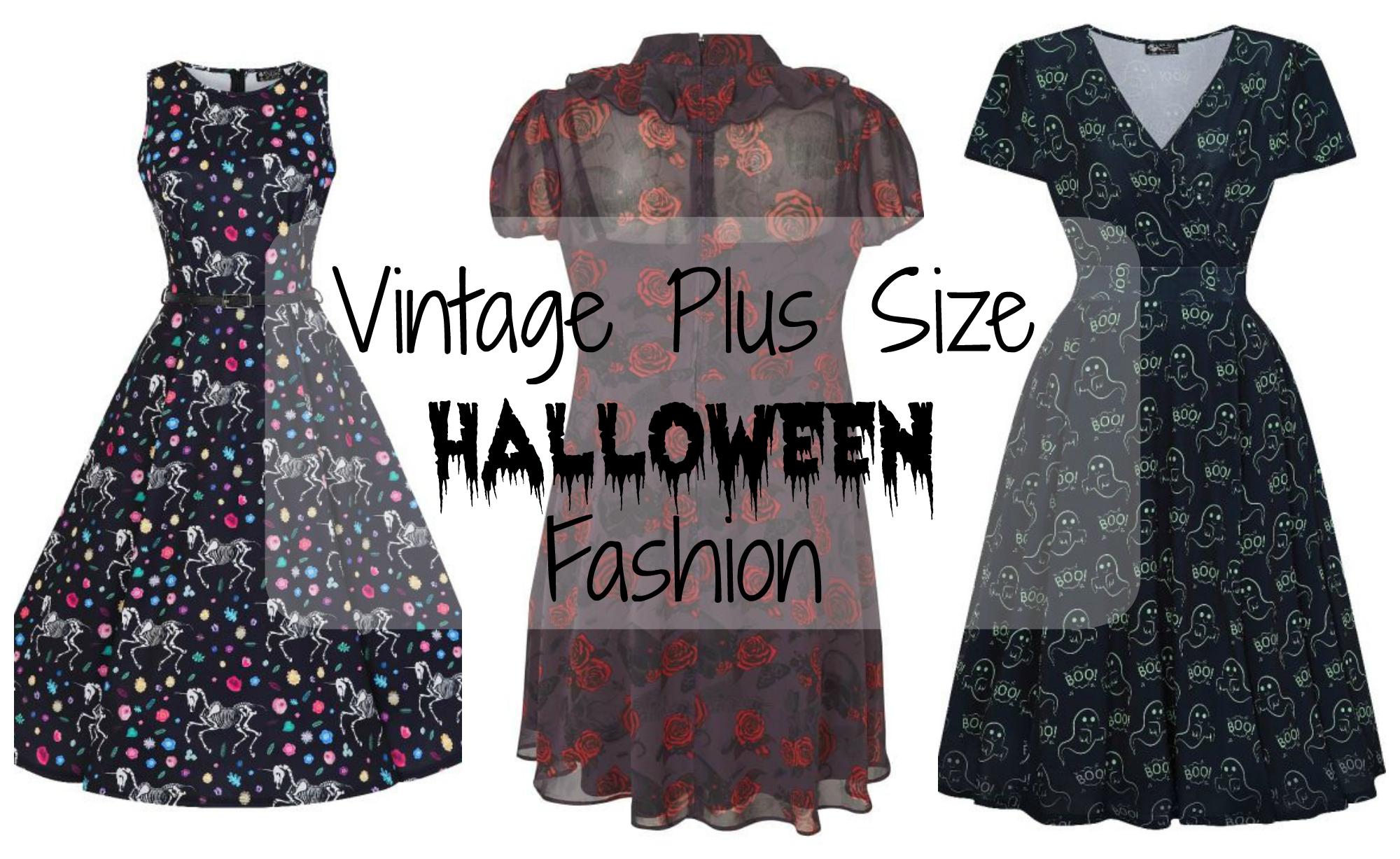 Vintage Plus Size Halloween Fashion